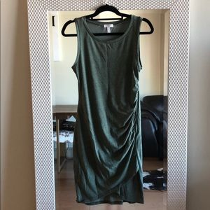 Leith Olive Green Dress